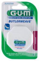 GUM Butlerweave Floss – hambaniit (vahatamata)