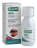 GUM AFTACLEAR suuõõne haavandite suuvesi 120ml