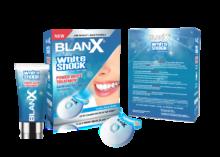 BLANX WHITE SHOCK intensiivne valguse abil valgendav hooldusvahend 50ml + LED BITE aktivaator