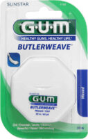 GUM Butlerweave Floss – hambaniit (vahatatud)