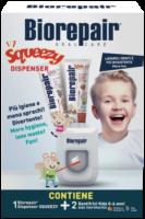 Biorepair lastekomplekt (dosaator + 2 x Kids 0-6a 50ml hambapasta)