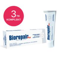 BIOREPAIR PLUS PRO White ksülitooliga hambapasta 75ml (3 tk)