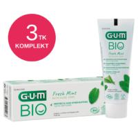 GUM BIO ORGAANILINE hambapasta fluoriidiga 75ml (3 tk)