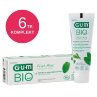 GUM BIO ORGAANILINE hambapasta fluoriidiga 75ml (6 tk)