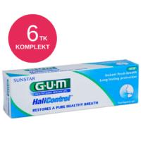 GUM HALICONTROL hambapasta halva hingeõhu vastu 75ml (6 tk)