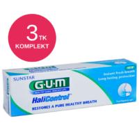 GUM HALICONTROL hambapasta halva hingeõhu vastu 75ml (3 tk)